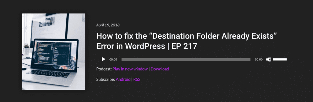 WP The Podcast Episode 217
