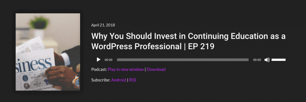 WP The Podcast Episode 219