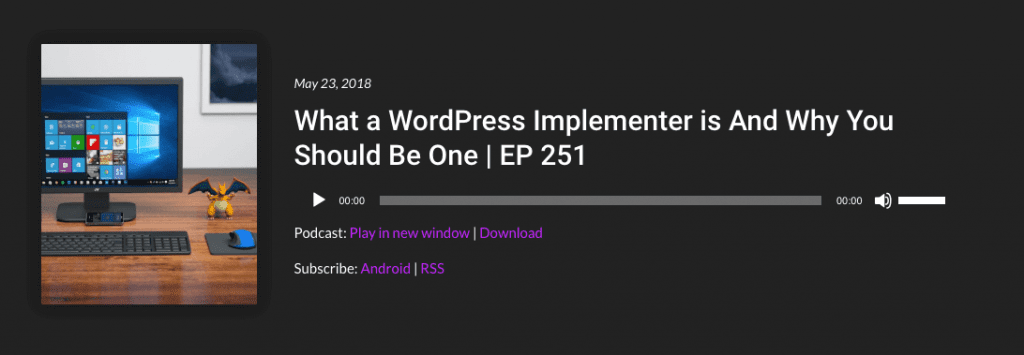 WP The Podcast Episode 251