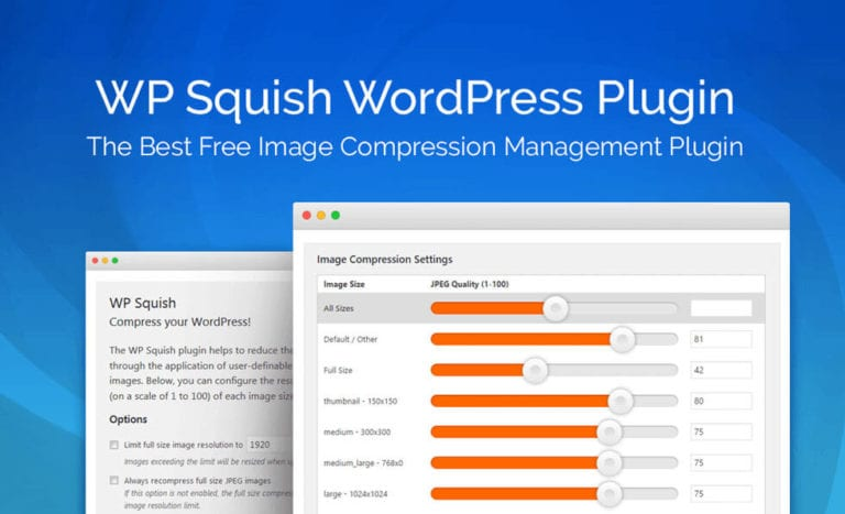 wp squish wordpress compression plugin