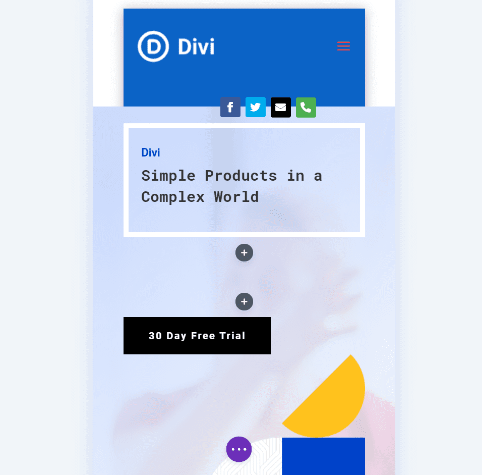 Building a Primary Menu with Divi Icon Party Icons